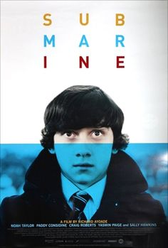 Submarine Poster. this was a really cute beautiful movie too.