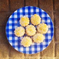 Bite-Size Lemon Scones with Lemon Glaze