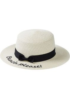 "Cappello di paglia ""Beach Please"", bpc bonprix collection"