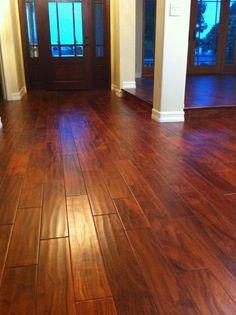 Here is an Acacia hardwood floor. It looks beautiful in this homeremodel.