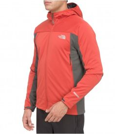 The North Face Men's Cipher Hybrid Hoodie - Windstopper