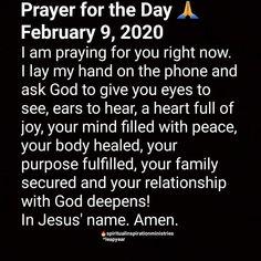Faith Prayer, God Prayer, Power Of Prayer, Prayer Quotes, Bible Verses Quotes, Faith Quotes, Spiritual Prayers, Bible Prayers, Spiritual Quotes