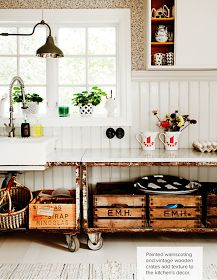 EN MI ESPACIO VITAL: Muebles Recuperados y Decoración Vintage: Decoración de reciclaje { Decoration with recycled elements }