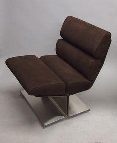 sièges années 7à en France, François Monnet, fauteuil, ca 1970