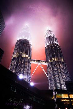 The countdown is on @Amaryllis Archanjo Pelletier !!!! - Petronas Towers, Kuala Lumpur
