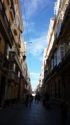 Calle Ancha. Cadiz.