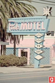 Pink Motel - have to find out where this is!