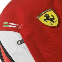 Scuderia Ferrari Replica Backpack #ferrari #ferraristore #puma #backpack #zaino #red #rosso #rossoferrari #ferrarired #prancinghorse #cavallinorampante #accessories #accessori #detail #dettaglio #maranello #scuderia