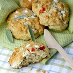 ends savory gruyere apple and sage scones via jessica chien see more ...