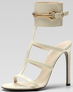 Eye Candy for the Day: Gucci Cuff Sandals