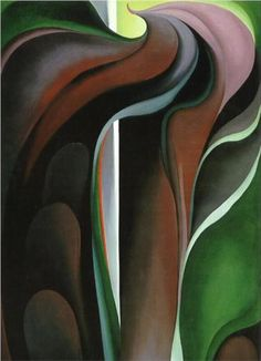 Georgia O'Keeffe - Jack in the Pulpit № V, 1930