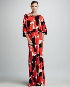Aurora Print Maxi Dress, Women\'s by Rachel Pally at Neiman Marcus.