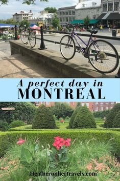 How to spend a perfect day in Montreal. With colourful street art, a fabulous food scene and fascinating historic buildings, Montreal is a wonderful city to explore. Places To Travel, Places To Visit, Travel Stuff, Canada Cruise, Canada Destinations, Beau Site, Canadian Travel, Visit Canada, Koh Tao