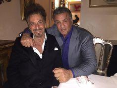 Sylvester Stallone and Al Pacino