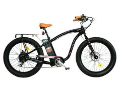 Equalizer Electric Fat Tire Bicycle. 48V 15ah Li Battery. 500 Watt Heavy Duty Motor. Center Console Lit LCD Display. Adjustable Comfort Stem. Quick Release Front Wheel.
