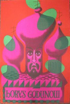 Boris Godunov, 1961, by Jozef Mroszczak