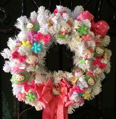 Custom Hello Kitty Wreath order for Grace final balance