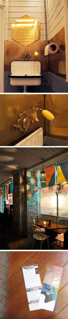 Le Mary Celeste Paris designed by Cheri Messerli & David Rager Weekends Studio
