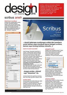 tutorial dan template scribus cover