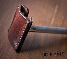 Safety razor leather sheath cover case