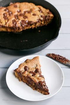 Nutella-Stuffed Deep Dish Skillet Cookie | 31 Delicious Things To Cook In March