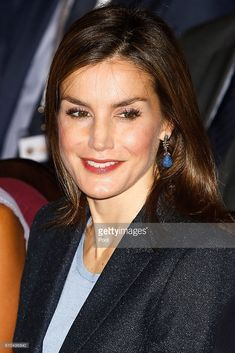 Queen Letizia of Spain attends 'Save Food 2016' Congress at Ateneo de Madrid on September 26, 2016 in Madrid, Spain.  (Photo by Jose Luis Cuesta - Pool/Getty Images)