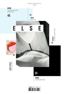 ELSE MAGAZINE  Copywriting & Editorial Director