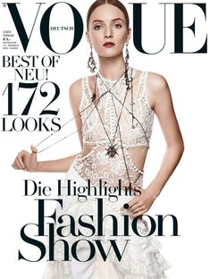 Vogue Germany Cover Februar 2016  #voguegermany #cover #covermodel