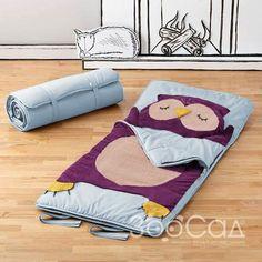 """Слипик """"Совёнок"""" Слипики можно использовать как в кровати в качестве постельного комплекта (простыня+одеяло+подушка), так и в качестве спального мешка или даже гамака."""