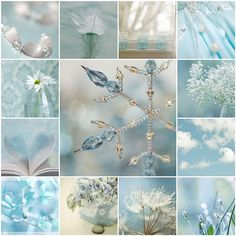 Mosaic Monday - Winter blues / Spring hope by LHDumes, via Flickr
