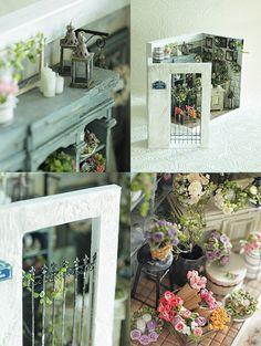 ••  v vida ~ muebles hechos a mano de color natural: imagen de miniatura * Flor * 3