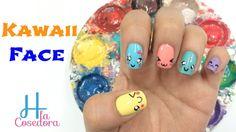 Decoración en las Uñas Kawaii Face ¡Comparte el video con todas tus amigas y no olvides suscribirte para más Nail Art es GRATIS! http://www.youtube.com/subscription_center?add_user=hlacosedora1