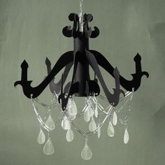 cereal box chandelier