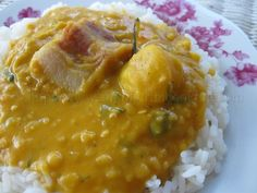 Split Peas and Rice with Pigtail | Simply Trini Cooking #trinicooking
