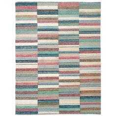 """I pinned this Jomah Kilim Modern 7'5"""" x 5'8"""" Rug from the Loominary event at Joss and Main!"""