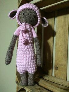Lupo the lamb made by Alissa M. / crochet pattern by lalylala
