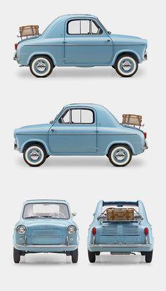 Vespa 400 Micro Car