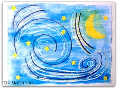 Easy Art: Starry Night by Vincent van Gogh