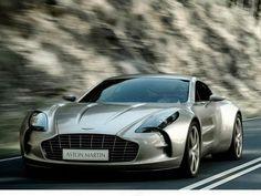 stunning shot of the beautiful Aston Martin one-77