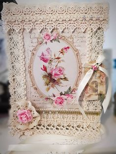 Excited to share the latest addition to my #etsy shop: Altered Shabby Chic English Rose Victorian Style Photo Album. http://etsy.me/2FMaK2T
