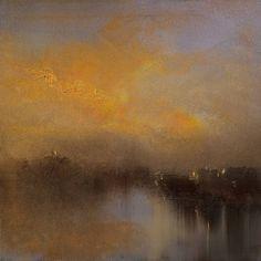 "Saatchi Art Artist Maurice Sapiro; Painting, ""City Lights"" #art"