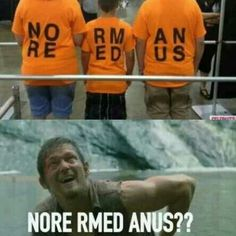 LOL meme funny Walking Dead Norman Reedus Daryl Dixon zombies