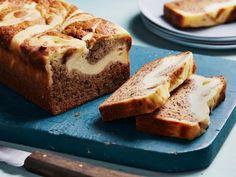 Get Cheesecake-Stuffed Banana Bread Recipe from Food Network
