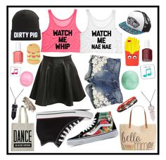 """""""Untitled #133"""" by biggestelfever ❤ liked on Polyvore featuring Pilot, Converse, Style & Co., ALPHABET BAGS, Bling Jewelry, Vans, Forever 21, Essie, Happy Plugs and Aéropostale"""