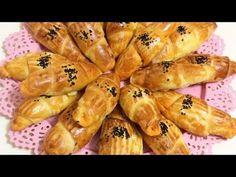 Yumuşacık bayatlamayan kıymalı horasan böreği - YouTube