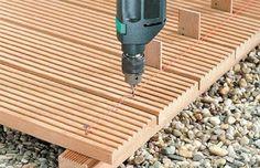 Life timber: #2 Jak zrobić samemu taras drewniany ?