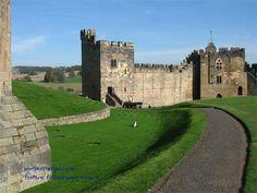 Alnwick inner wall road