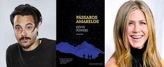 """Cantinho da Leitura: Jennifer Aniston, Jack Huston e a adaptação de """" Pássaros Amarelos """""""