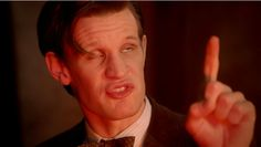 Doctor Who eleven gif derp