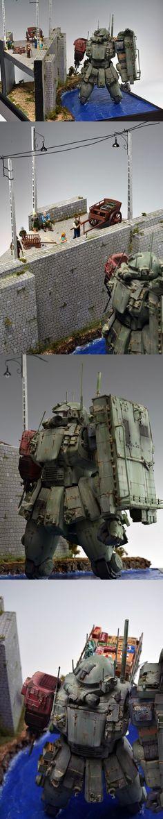 www.pointnet.com.hk - 高手情境作品!! MG 1/100 渣古 情境 Revenge : supplementary story - Supply for GF14